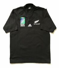 Vintage ALL BLACKS adidas Jersey iRB Rugby World Cup 2003 Kiwi Made New Zealand