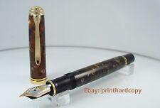 2017 Special Edition Pelikan Souveran M800 Renaissance Brown Fountain pen 18K