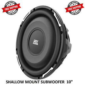 """MTX FPR10-04 SHALLOW MOUNT 10"""" SUBWOOFER SINGLE 4-OHM  600 WATTS FREE SHIPPING"""