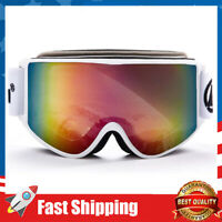 OTG Ski Goggles Pro,Anti Fog Over Glasses Snowboard Goggles 100%UV400 Protection
