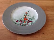 Wedgwood Handpainted Cabinet Plate ( Dayd 1961 ) Fruit Pattern