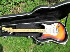 FENDER STRATOCASTER GUITAR, 1993, USA, SUNBURST, CASE, EXCELLENT CONDITION