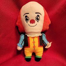 "Stephen King It tim curry Pennywise Clown Plush 8"" 1990 Phunny Kidrobot stuffie"