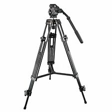 Weifeng 1.3m Professional Heavy Duty DV Video Camera Tripod With Fluid Head