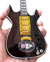 Miniature Guitar Jerry Garcia Grateful Dead Hat Trick Free Shipping