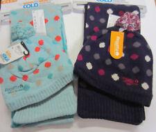 Bonnets bleus en laine mélangée pour femme