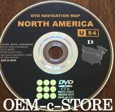 GENUINE OEM TOYOTA NAVIGATION DVD UPATED DISC VERSION U94 D, 12.1 MAP 2014 disc