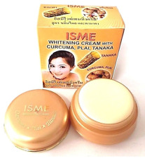ISME Whitening Face Cream With Curcuma, Plai, Tanaka Thai Herbal 3g + Free Ship