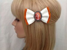 5th element leeloo hair bow clip rockabilly pin up girl geek scifi retro vintage