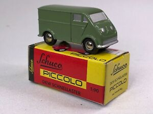 Schuco Piccolo DKW Schnellaster #1551 NEW IN ORIGINAL BOX Sage Green