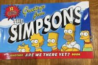 Simpsons Greetings from the Simpsons 32 Detachable Postcards Book, Matt Groening