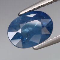 2.24Ct.Ravishing Color Blue Normal Heated Sapphire Madagascar Good Luster!