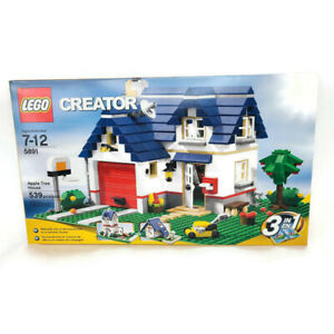 LEGO Creator Apple Tree House 5891 Retired 539 Pieces New Sealed Free Shipping
