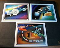 Souvenir Sheet Foreign Grenada Scott# 2003-2005 Exploration of Mars 1991  C504