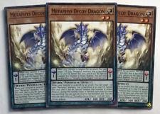 Yu-Gi-Oh! CYHO-EN018 - 3 x Metaphys Decoy Dragon - 1st edition - Common