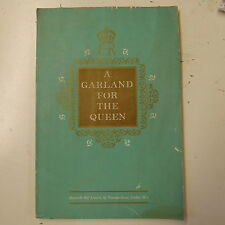 vocal A GARLAND FOR THE QUEEN stainer & bell / songs for mixed voices