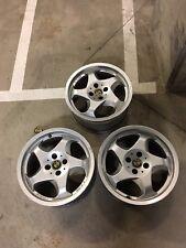 Alpha Throwing Star Wheels 4x100 Lug 16x7.5 BMW E30