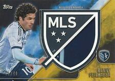 2015 Topps Major League Soccer Apex Crest Jumbo Relic Card Variations #'d /40