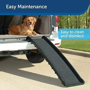 "New! PetSafe Happy Ride Folding Dog Ramp Foldable Lightweight 62"" Ramp"