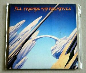 Yes - Friends and Relatives 2CD in Replica Gatefold LP Sleeve 1998 New & Sealed