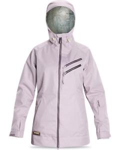 New Dakine Piper Shell Snowboard Jacket Women's Medium Iris Purple