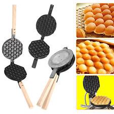 Egg Waffle Nonstick Pans Bubble Hongkong Eggettes Iron Pans Waffle Bake Machine