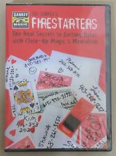 Jay Sankey's FIRESTARTERS (DVD) The Real Secrets to Getting Dates with Close-Up