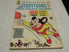 Terrytoons Giant Summer Fun Book #101 (Summer 1957, Pines)
