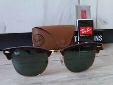 Ray-Ban Clubmaster Classic Tortoise Unisex Sunglasses RB3016 W0366 51/21 145