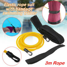 Swiming Training Belt Strap Swim Resistance Safe Tether Leash Pool Training Rope