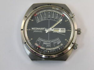 Vintage Wittnauer 2000 Watch Automatic Day/Date