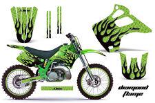 KAWASAKI KX 125/250 Graphic Kit AMR Racing # Plates Decal Sticker Part 92-93 DPG