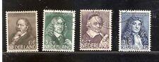 Nederland Netherlands 296-299 Zomerzegels 1937 gestempeld-used