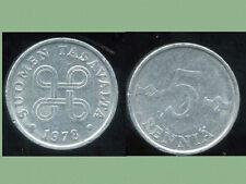 FINLANDE 5 pennia  1978   ( bis )