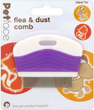 PetFace Flea & Dust Comb Ideal for Cats and Dogs FREEPOST