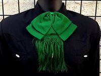 Mexican Charro and Mariachi Green Adult Bow Tie From Mex.Moño Charro/Mariachi
