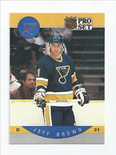 Jeff Brown Blues 1990-1991 Pro Set #260