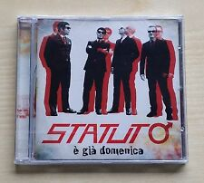 STATUTO - E' GIA' DOMENICA - CD SIGILLATO (SEALED)