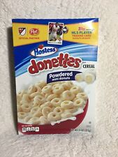 Hostess donettes Cereal Powdered Mini Donuts Post MLS Trading Cards