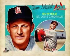 STAN MUSIAL Retro 1950s-Vintage-Style St. Louis Cardinals Premium Poster Print