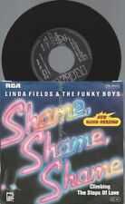 "7""  Linda Fields & The Funky Boys ‎– Shame, Shame, Shame"