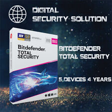 BitDefender Total Security 2020 5 Devices 4 Years + Service Plan