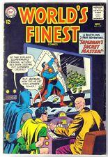 World'S Finest #137 Superman's Secret Master! Dc Comic Book ~ Vg