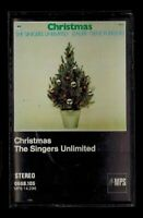 The Singers Unlimited Christmas Cassette 1972 MPS Germany Gene Puerling Jazz