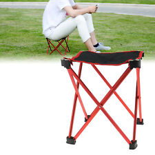 Outdoor Folding Seat Stool Fishing Camping Hiking Beach Picnic BBQ Chair Travel