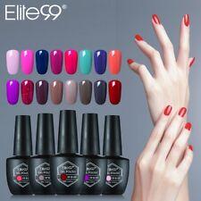 Elite99 Color UV Gel Polish Nail Lacquer Varnish Manicure Primer Top Coat Salon