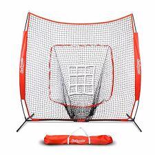 GoSports 7' x 7' Baseball & Softball Practice Net with Bonus Strike Zone