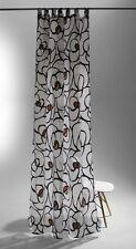 Schlaufenschal Raffi Rose Contour Öko-Tex transparent Ausbrenner 5776-06 graphit