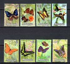 MALAYSIA MALAYA 1970 BUTTERFLIES DEFINITIVE COMPLETE SET OF MNH STAMP UNMOUNTED