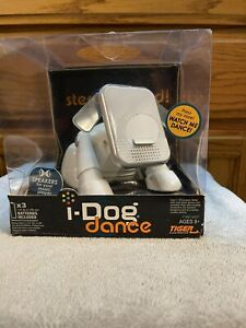 ⭐ NEW Hasbro I-Dog Dance White Interactive Music Speaker w/Movement & Lights